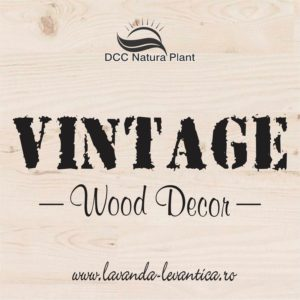 VINTAGE Wood Decor